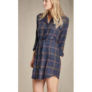Toad&Co Re-Form Flannel Shirtdress