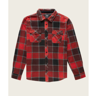 O'Neill M's Glacier Plaid Fleece Shirt