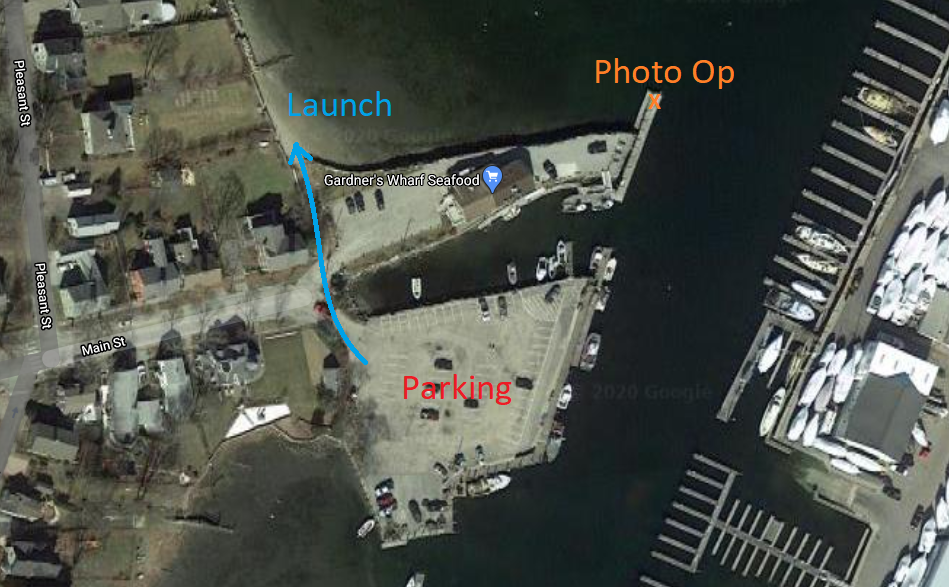 Witches Paddle Launch Location