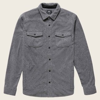 O'Neill M's Glacier Heather Superfleece Flannel