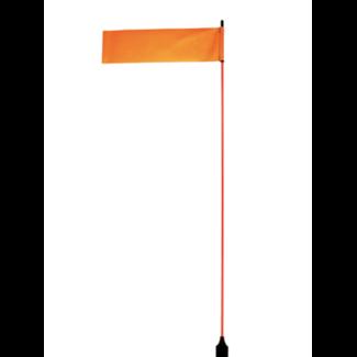 "YakAttack VISIFlag, 52"" Tall Mast with Flag, Trac Ready"