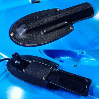 BerleyPro Lowrance TripleShot Transducer Cover