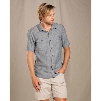 Toad&Co M's Taj Hemp S/S Slim Shirt