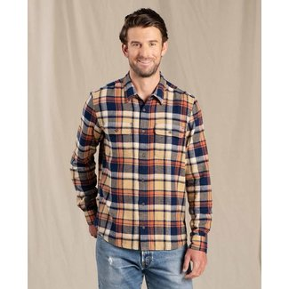 Toad & Co M's Indigo Flannel L/S Shirt