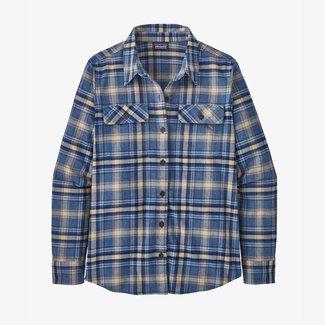 Patagonia W's L/S Organic Cotton MW Fjord Flannel Shirt