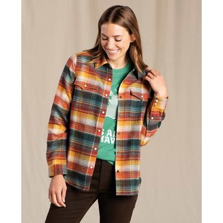 Toad & Co W's Folk Yeah Shirt Jacket