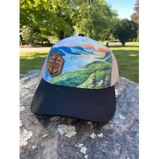 Anchored In Clothing Co. Youth Fjord Trucker - Black/Multi