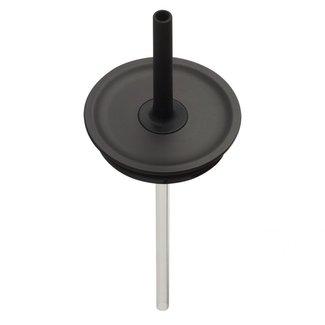 Hydro Flask Medium Press-In Straw Lid Black
