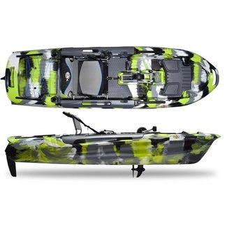 3 Waters Kayaks Consignment - Big Fish 108 Green Camo