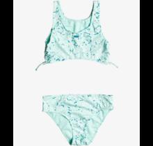 bikini Girl's Fun With Love Crop Top Bikini Set