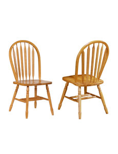 """Sunset Trading 38"""" Arrowback Chair - set of 2"""