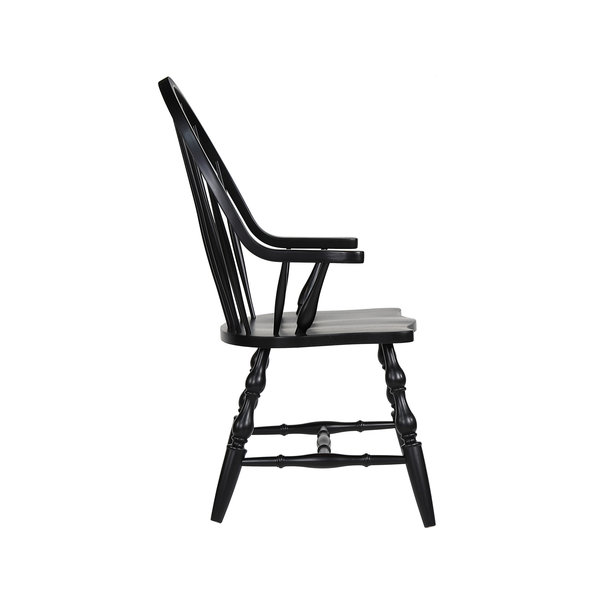 "Sunset Trading 41"" Windsor Arm Chair"