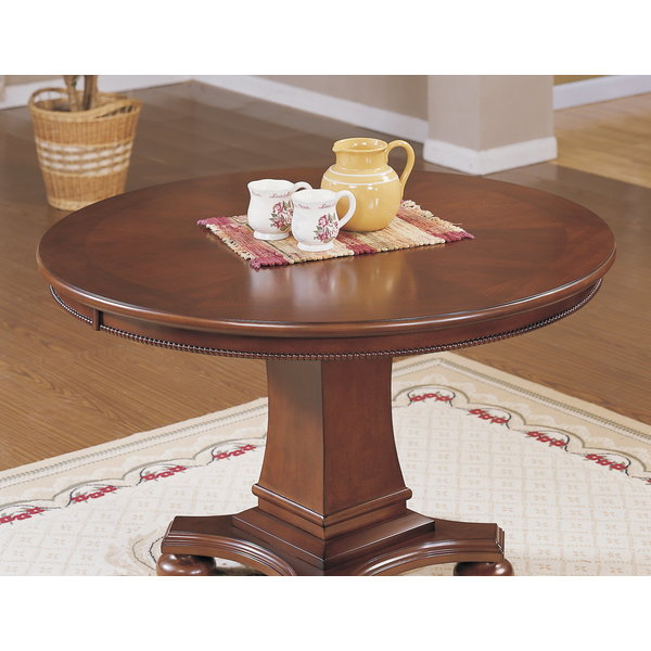 Sunset Trading Bellagio Dining and Poker Table l Reversible Game Top l Brown Cherry Wood