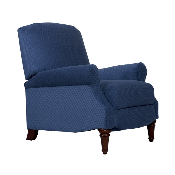 Sunset Trading Blue Diamond Recliner l Manual Reclining Chair