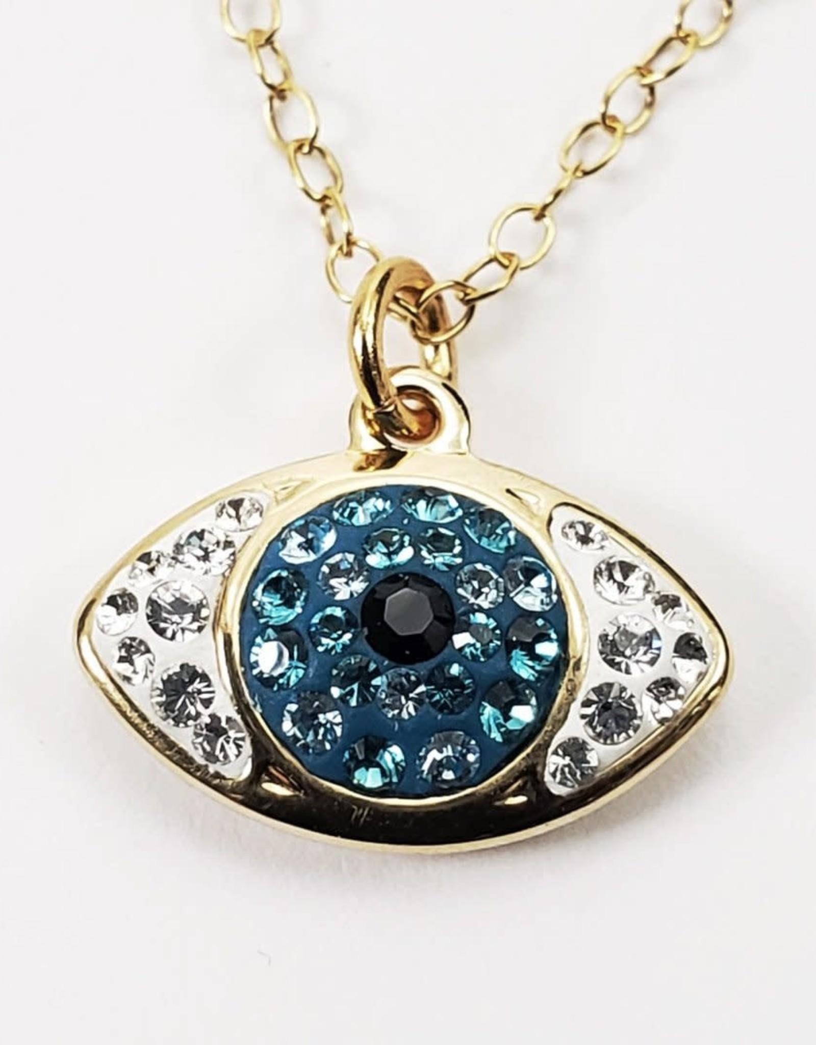 Dazzle Eye Necklace