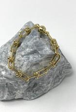 Linked Clips Bracelet