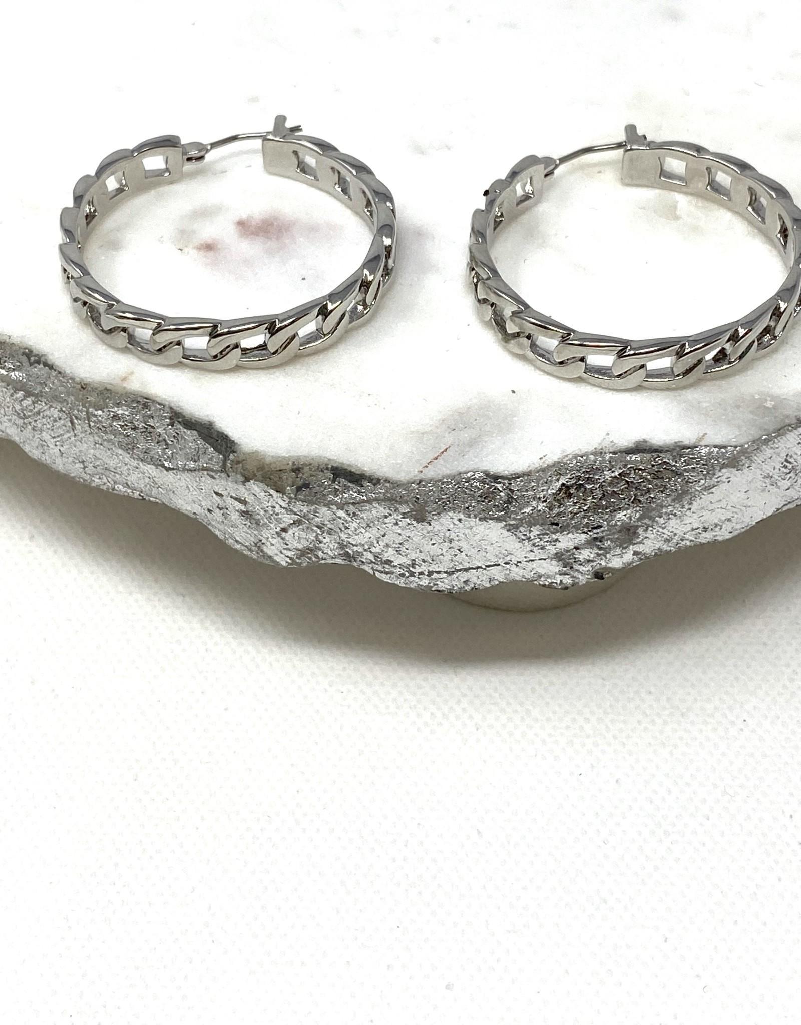Curb Chain Earrings
