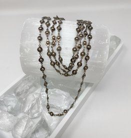 Chrome Layer Necklace