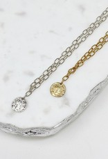 Silver Dainty Chain Link Necklace