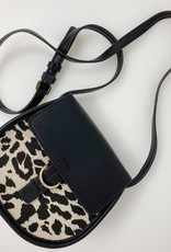 Leopard Small Saddle Crossbody