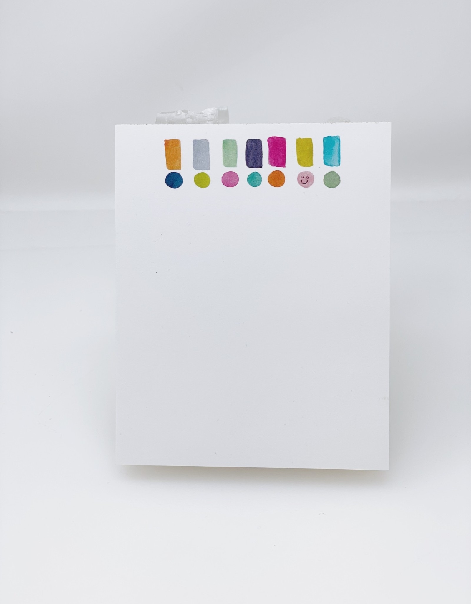 Exclamation Mini Notepad