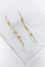 Long Shooting Star Earrings