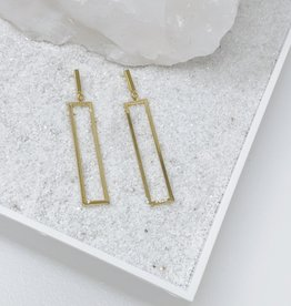 Secret Box Gold Geometric Earrings