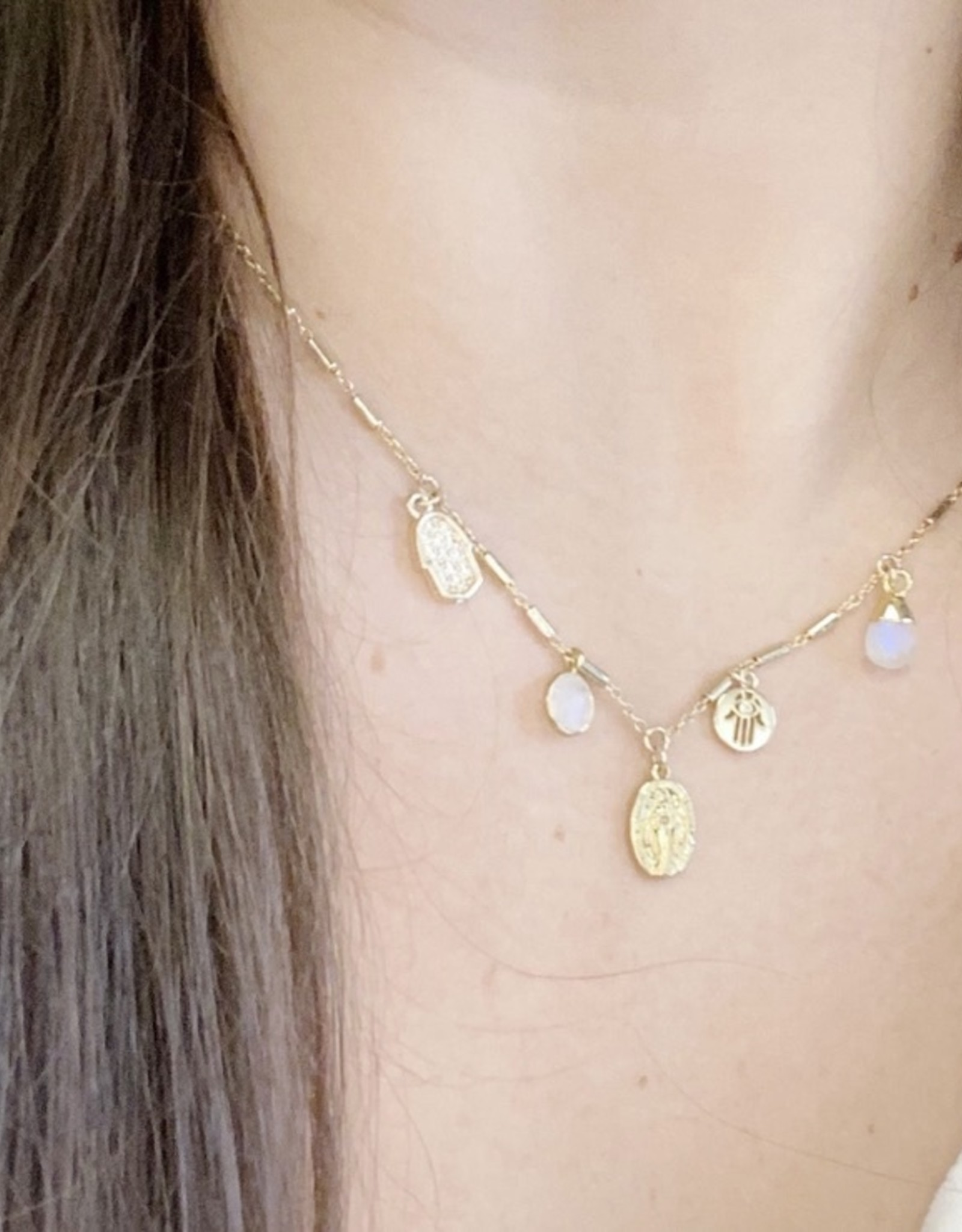 Dainty Charms Necklace