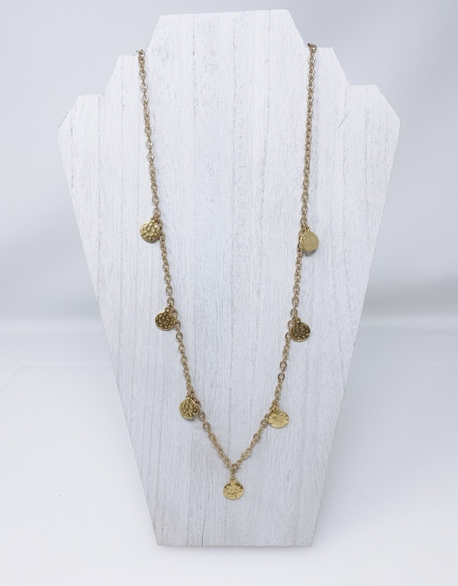 Sister Golden Hair Necklace