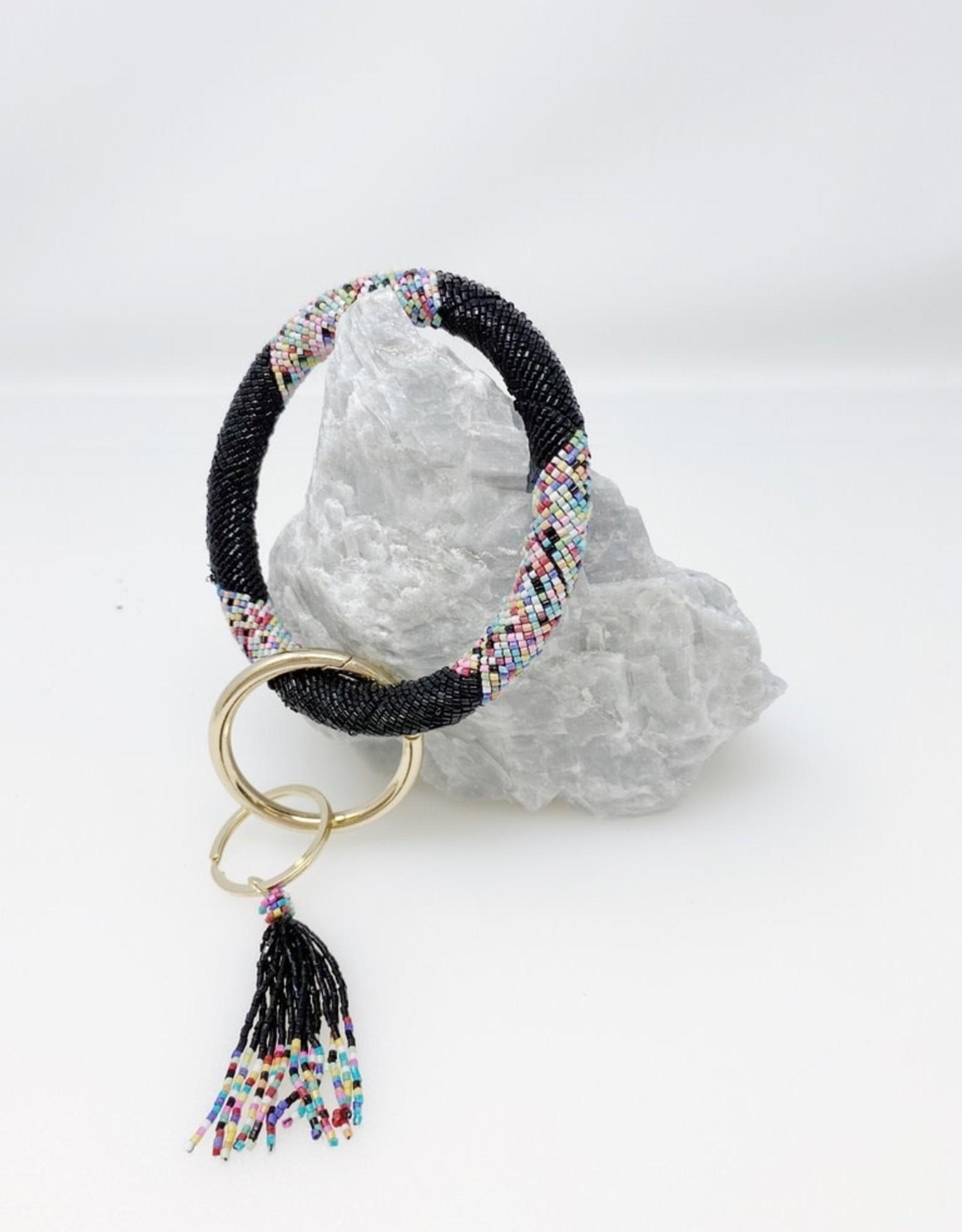 Confetti Key Ring