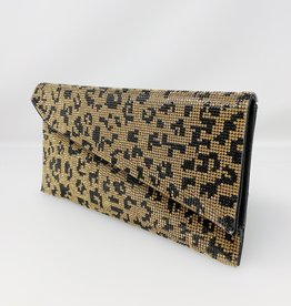 bc handbags Cheetah Stud Clutch