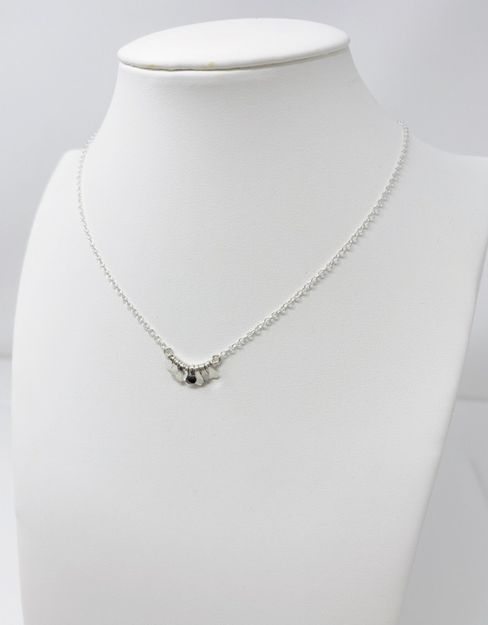 Lotus Silver Mesi Necklace