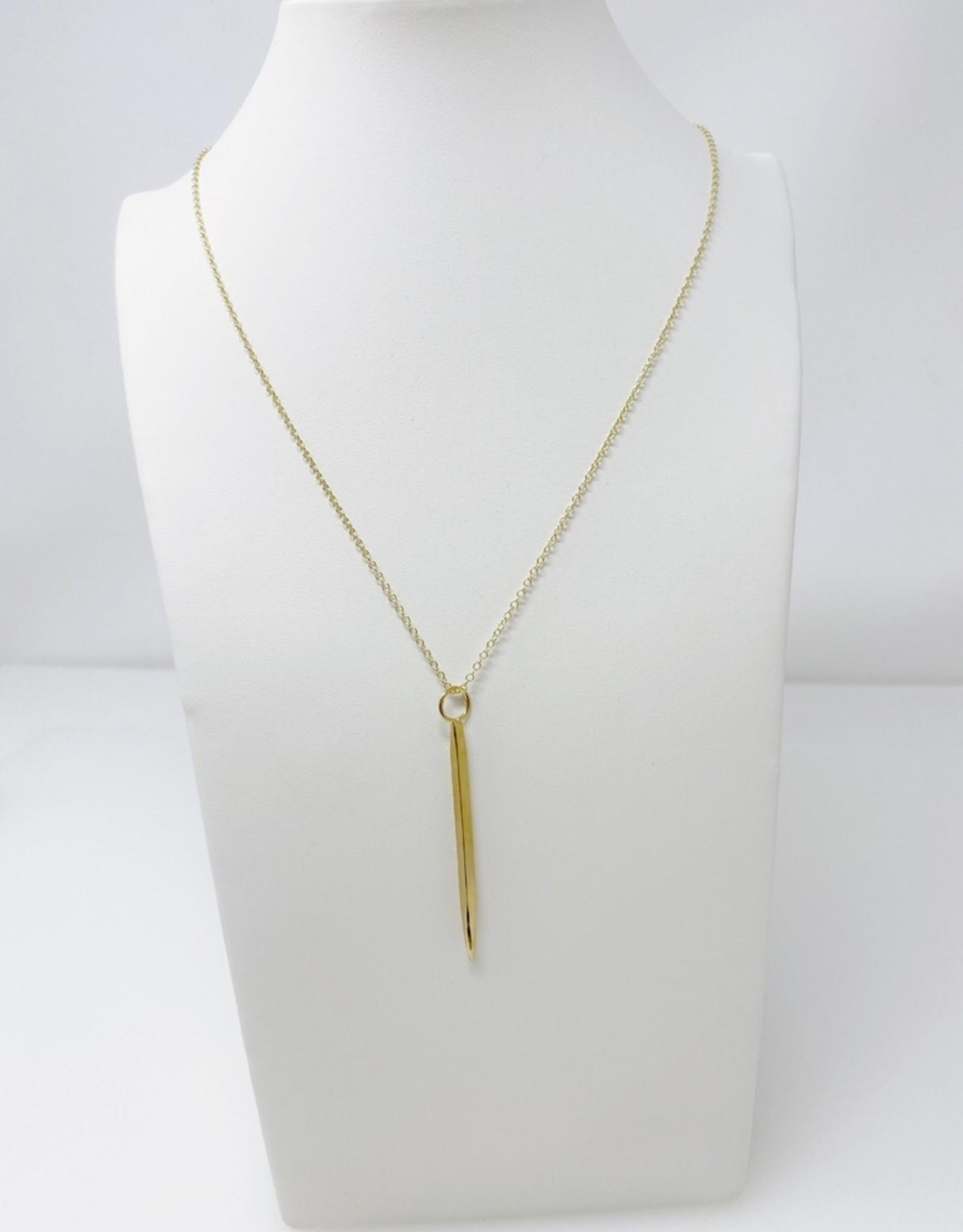 Lotus Gold Hawk Necklace