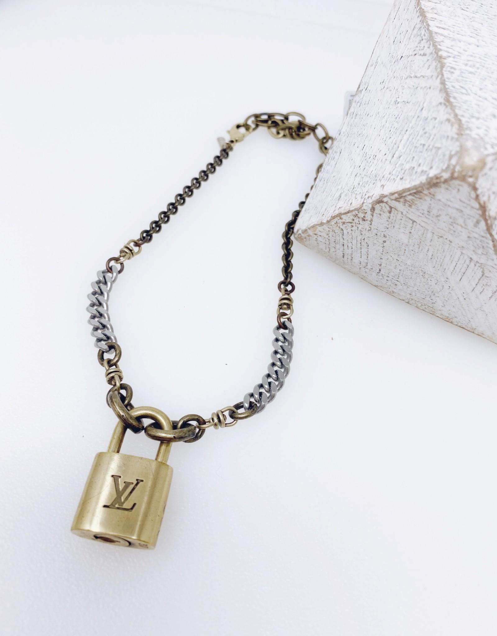 Vintage LV Lock & Key