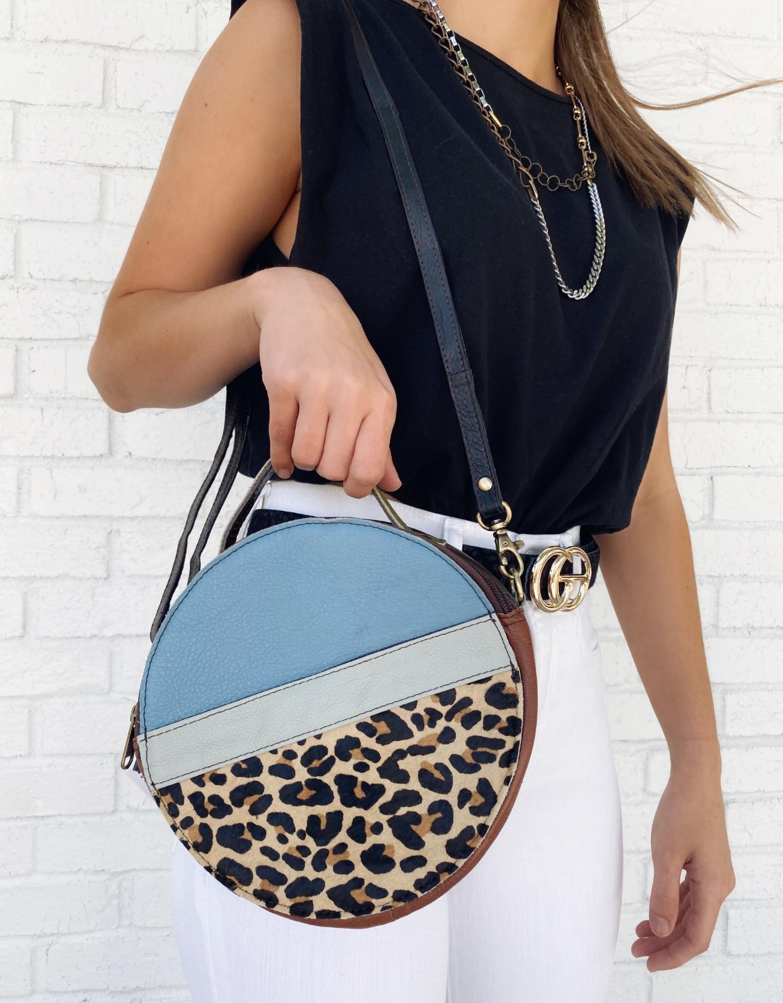 Soruka Hera Print Leather Bag