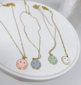 Wrapped By Sav Happy Necklace Colors