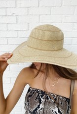 Magid Straw Floppy Hat