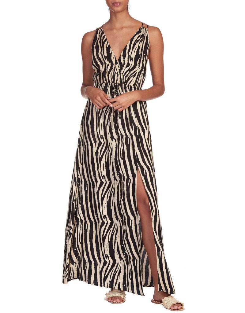 Zebra Maxi Dress
