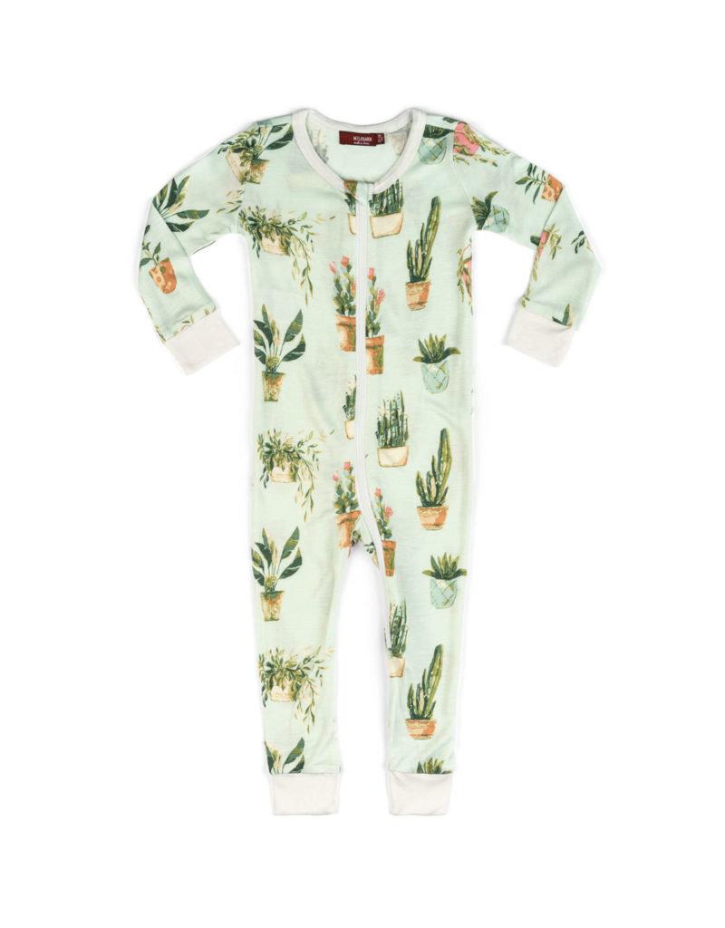Milkbarn Zipper Pajama