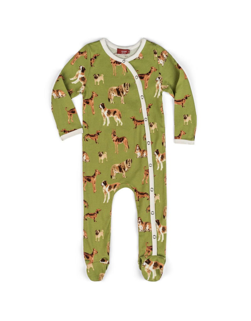 Dog Footed Romper