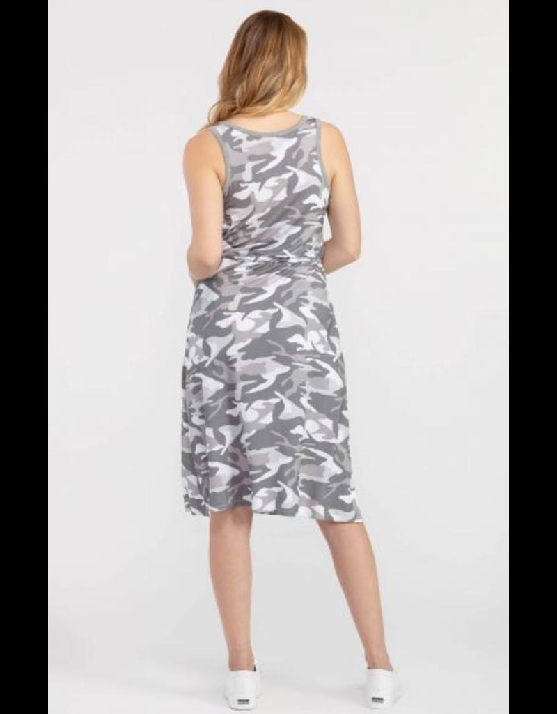 Camo Tank Dress w/Pockets
