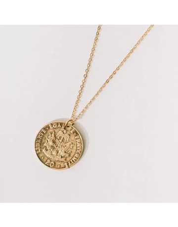 Lejan Coin Necklace