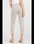 Striped Cuff Pant
