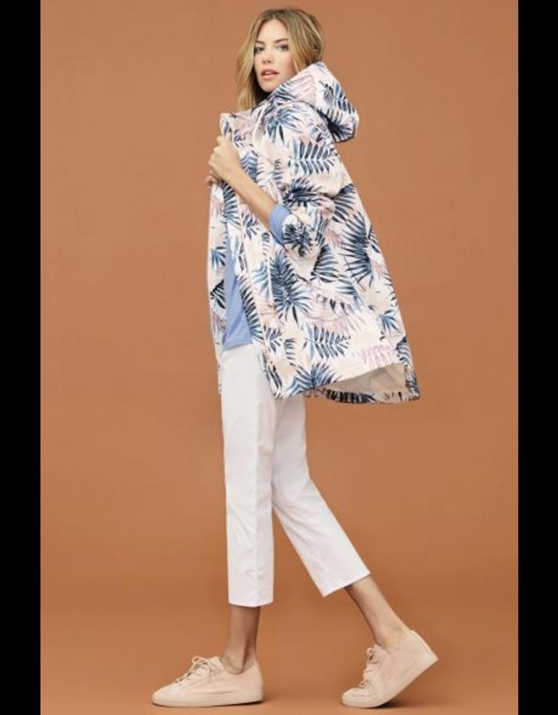 Palm Print Coat