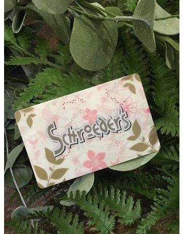 Gift Card $25-$150