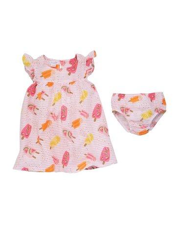Popsicle Muslin Dress