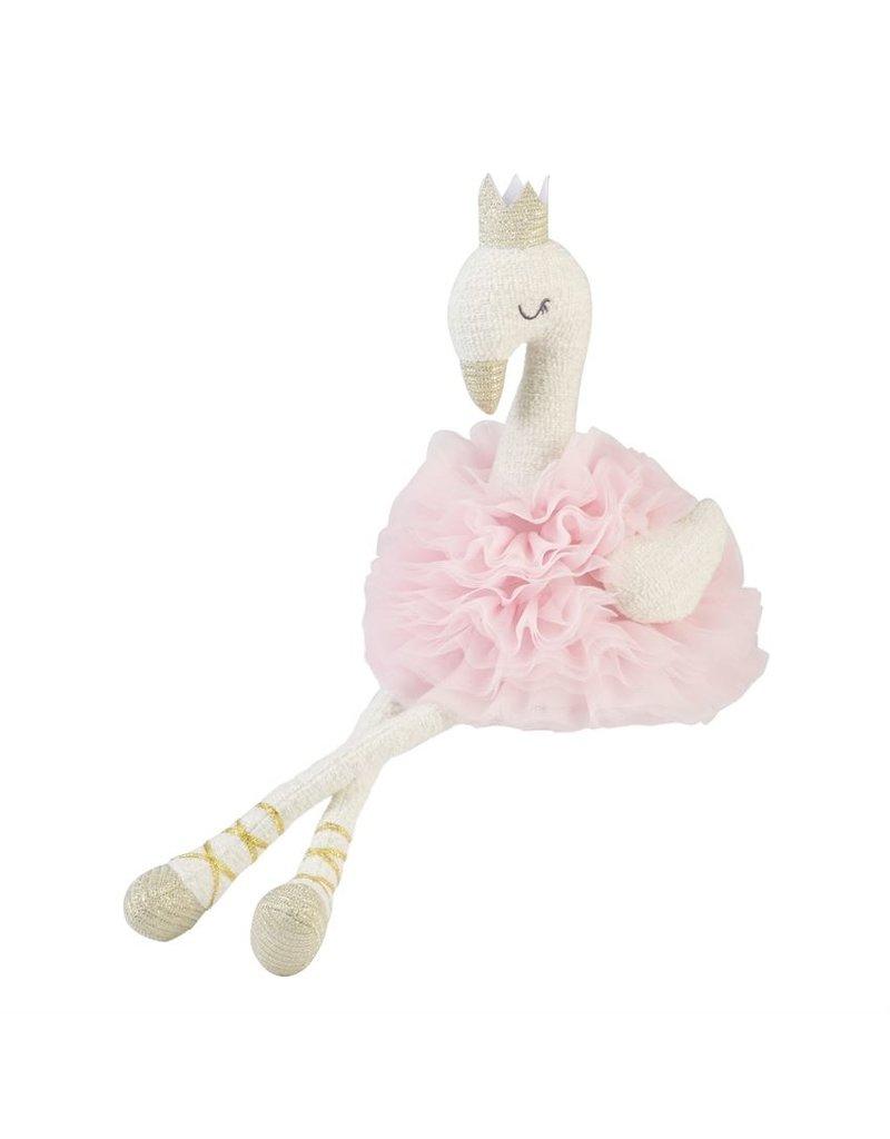 Swan Plush w/ Crown
