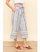 Stripe Crop Pants