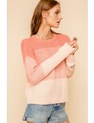 Ombre Crew Sweater