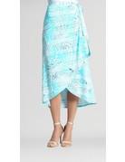 Tropical Wrap Skirt